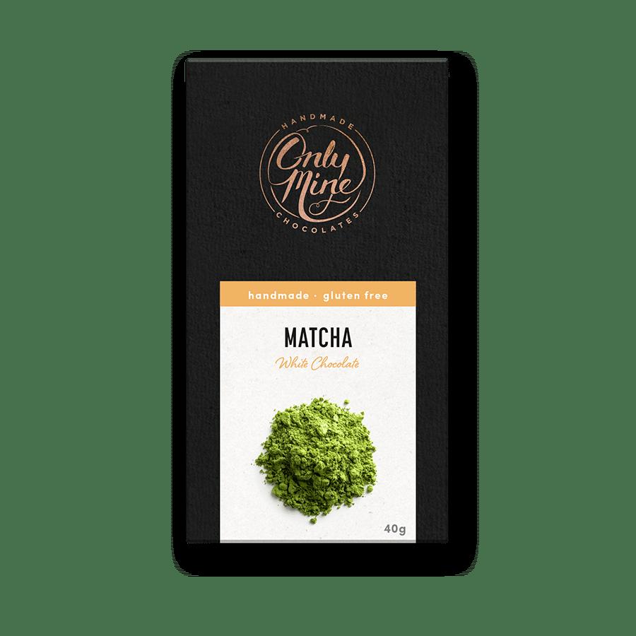Matcha White Chocolate Bars